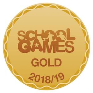 Gold sports logo 2018-2019