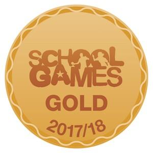 Gold sports logo 2017-2018